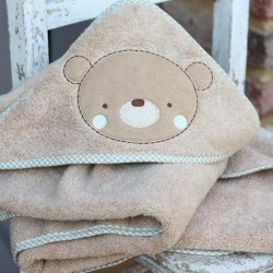 TEDDY & ELE PLUSH BATHROBE